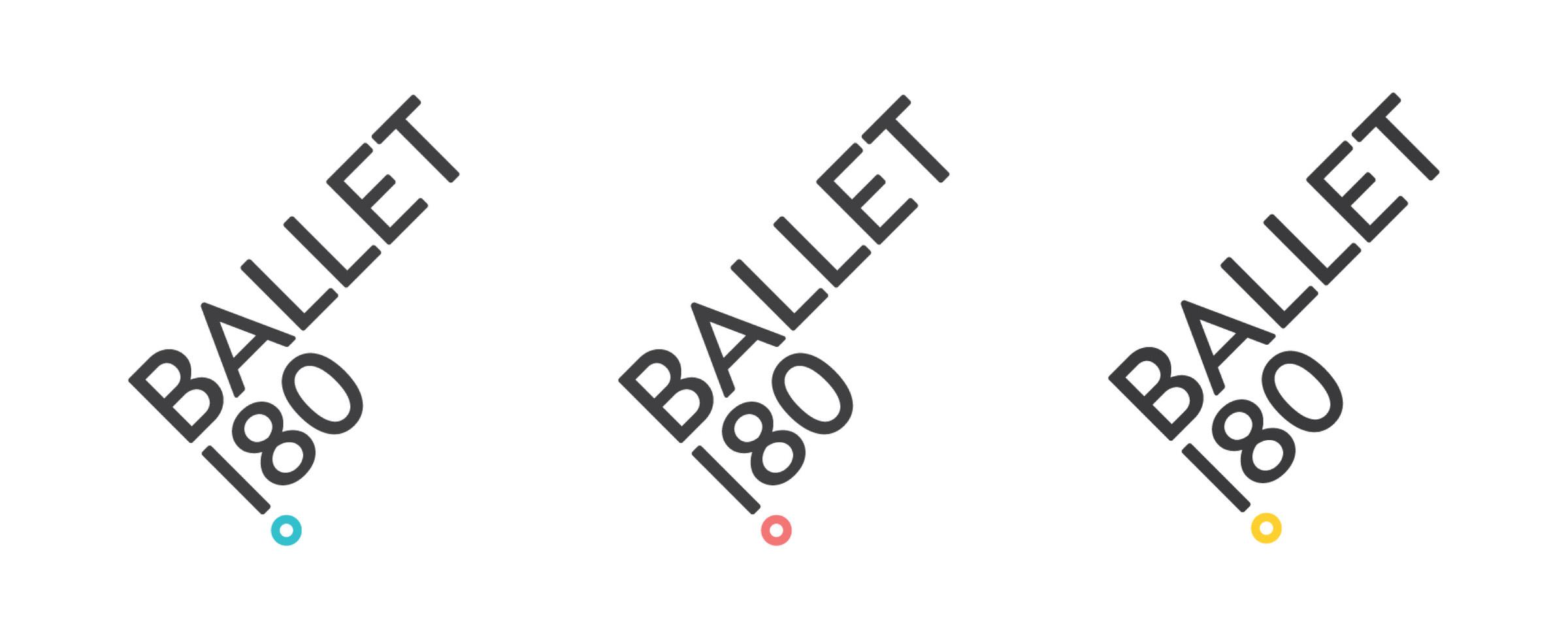 Ballet 180 Logo Set