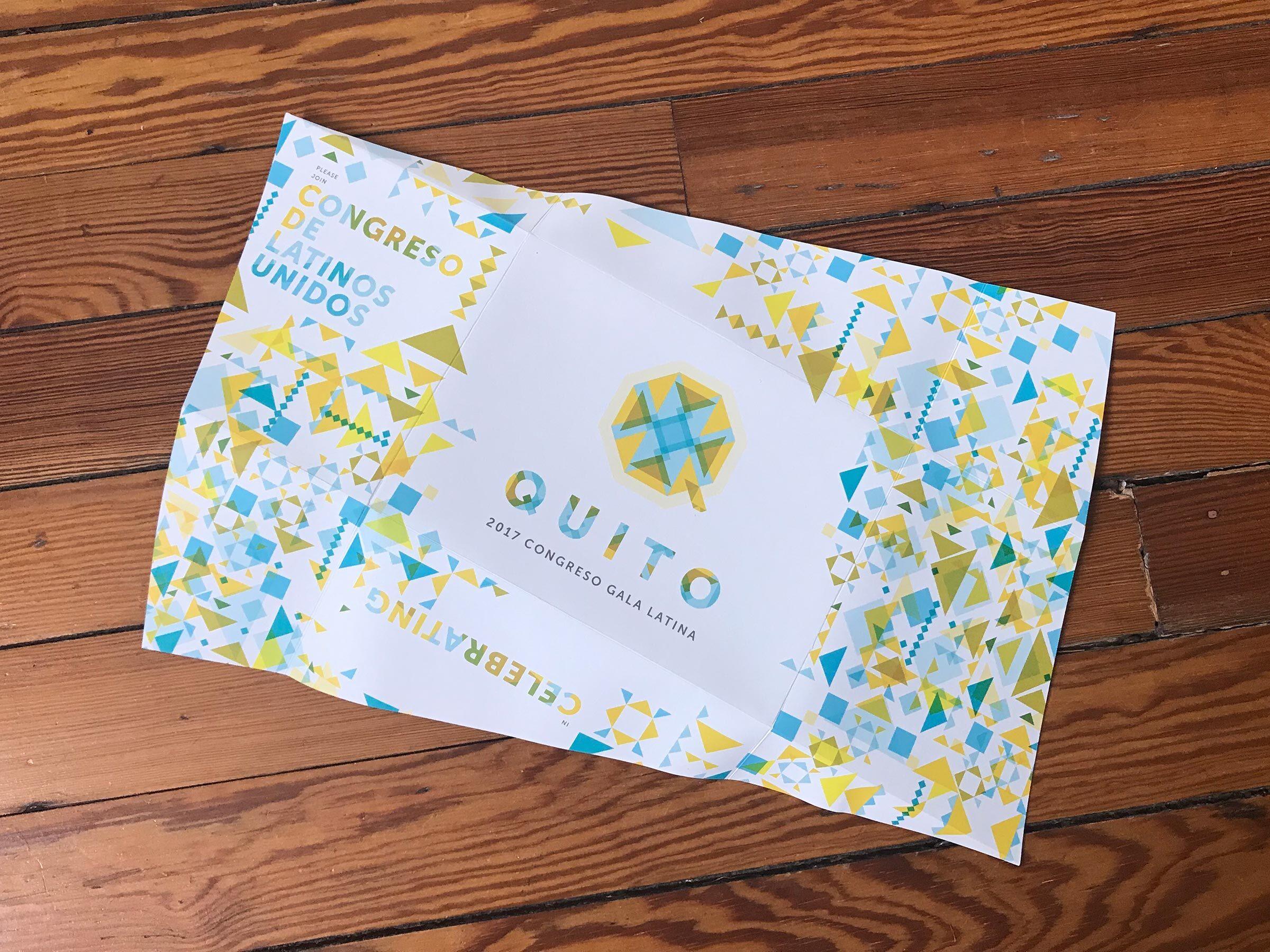 Congreso Quito Invite Open Back