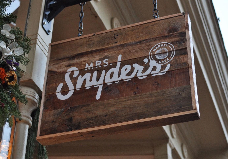 Featured Image of Mrs Snyder's Signage Design