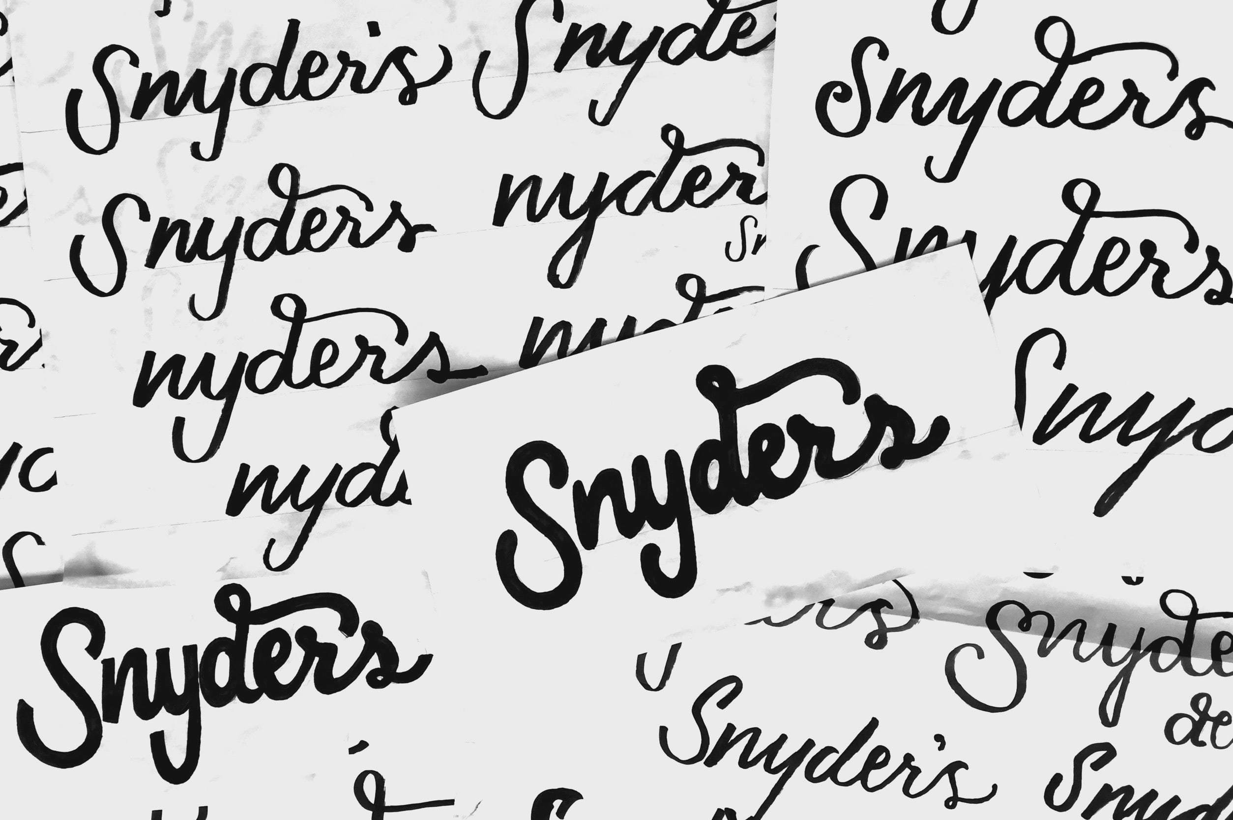 Mrssnyders Handwritten Type Inline