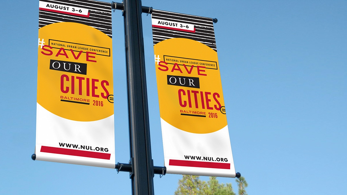 Nul 2016 Conference Lamp Post Signs