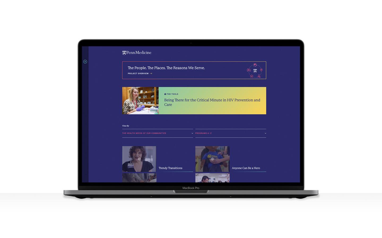 Penn med website home imac slider 3