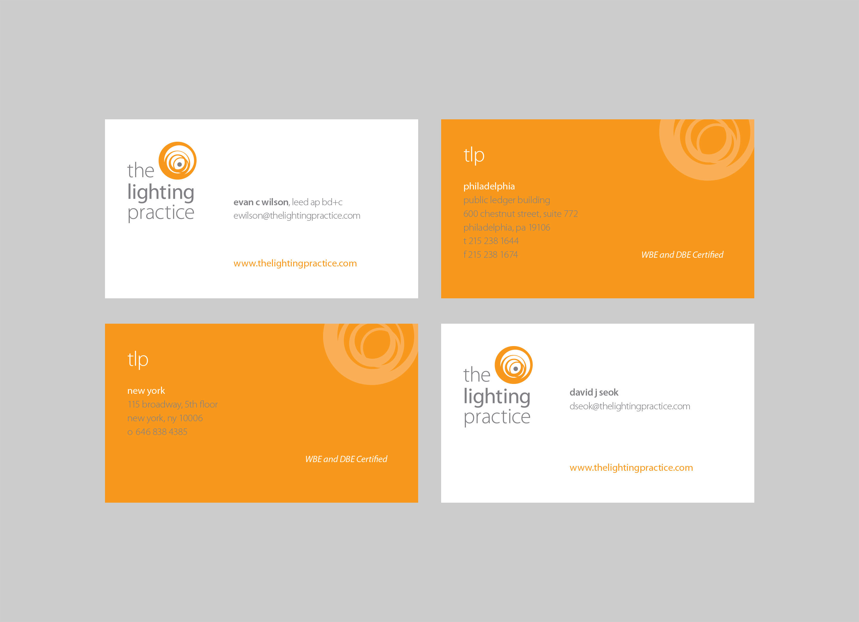 Tlp Stationery Biz Cards