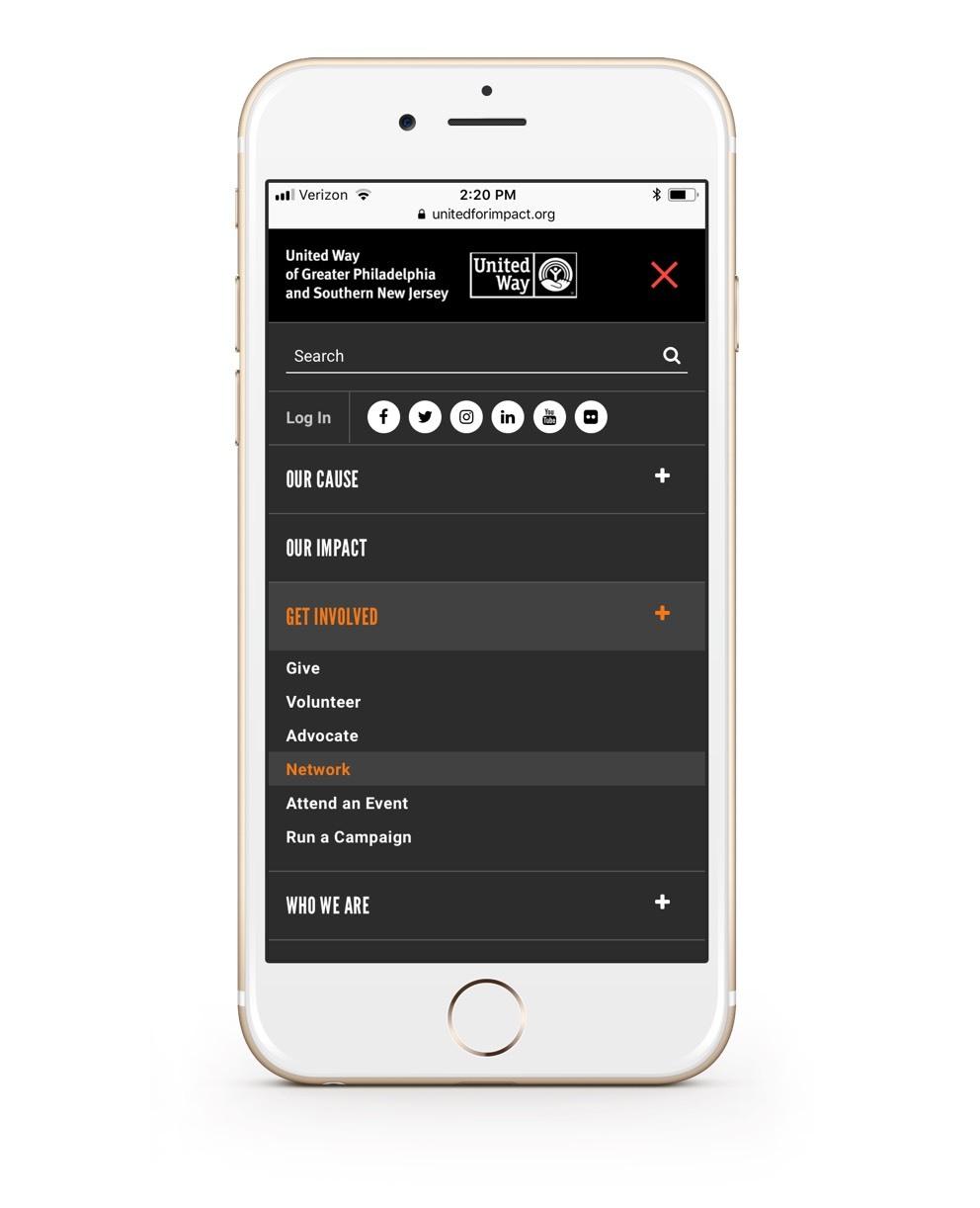 Uwgpsnj Website Phone Navigation